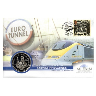 1998 BU 1 Crown - Railway Innovations Commemorative